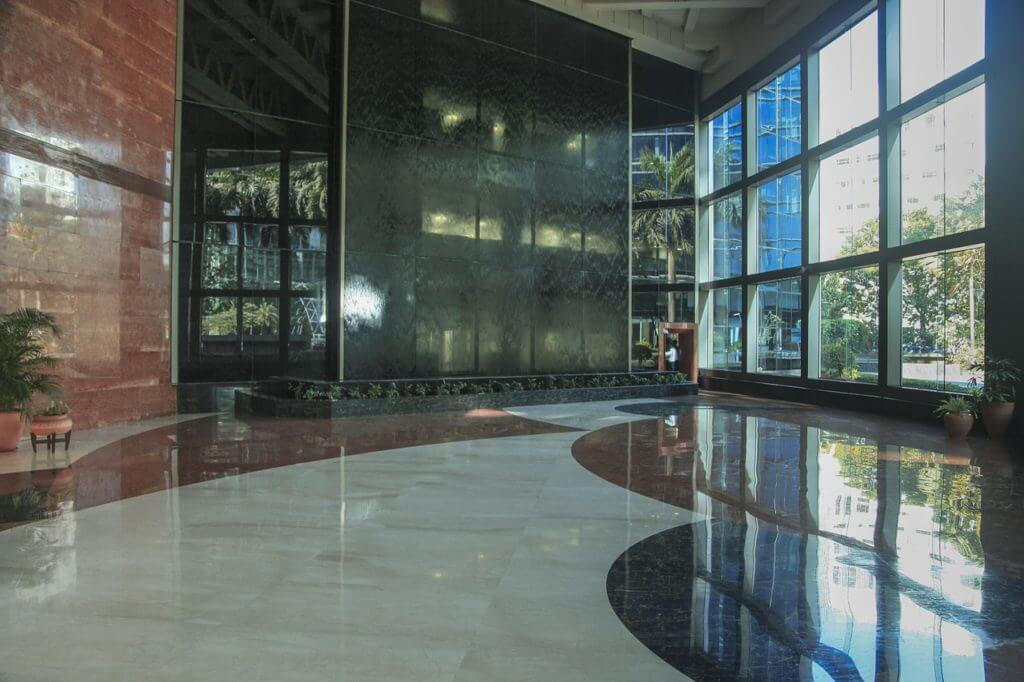 building, interiors, lobby